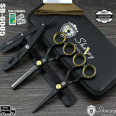5.5  Pet Hair Scissors Dog Grooming Cutting/Thinning Shears Comb Tool Cutter • 12.99£