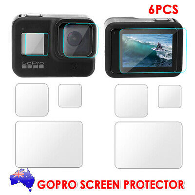 AU13.95 • Buy 6Pcs Screen Protector Cover Lens Cap For GoPro Hero 8 Black Camera Accessories A