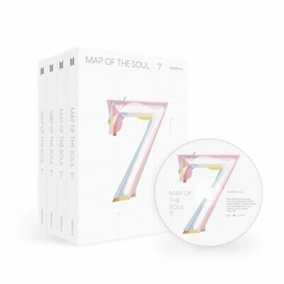 $26.40 • Buy BTS-[Map Of The Soul 7] CD+Poster+PhotoBook+Lyric+Card+Post+Sticker+Paper+Gift