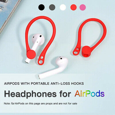 $ CDN5.15 • Buy For Apple AirPods Silicone Wireless Earphone Accessories Protector Earhooks Surp
