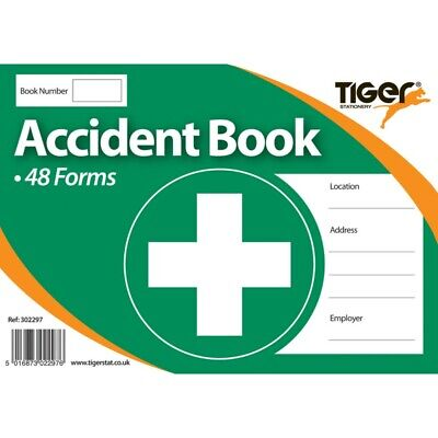 £3.29 • Buy Accident Report Book First Aid School Office Injury Health Record 48 Forms
