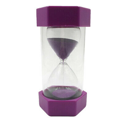 AU16.48 • Buy Hourglass Sand Timer 2 Minute Time Management Tool Gifts-Purple