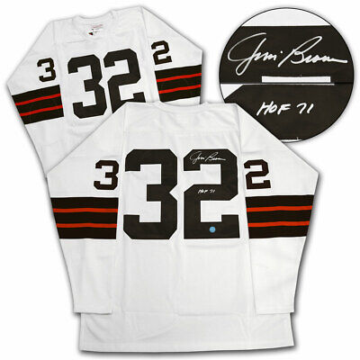 $ CDN799.99 • Buy Jim Brown Cleveland Browns Autographed Mitchell & Ness Football Jersey