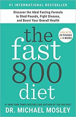 $24.95 • Buy The Fast800 Diet: Discover The Ideal Fasting Formula...HARDCOVER – 2019 By Dr...