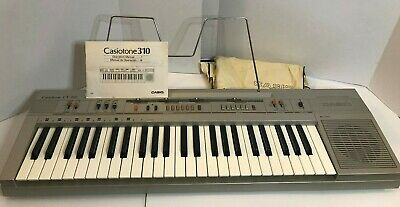 $59.99 • Buy Casio Casiotone CT-310 Keyboard Synthesizer Piano 49 Keys Tested Working