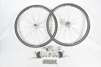 $509.15 • Buy Campagnolo Road Bicycle Groupset Chorus & Mirage 9 Speed Ergo Power Omega V Rims