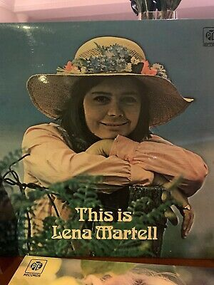 Lena Martell - This Is Lena Martell - LP Vinyl Record • 2.80£