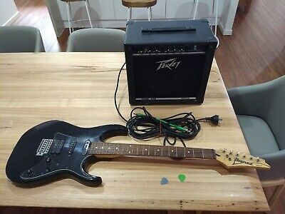 AU51 • Buy Ibanez RX 40B Electric Guitar And Peavey Rage 158 Amplifier
