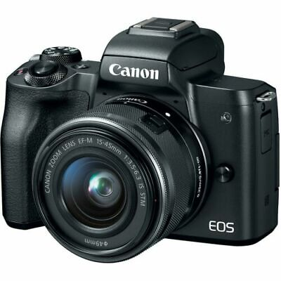 View Details Canon EOS M50 Mirrorless Digital Camera (Body Only) With Spare Battery • 300.00£