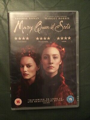 Mary Queen Of Scots (DVD, 2018) Satires Ronan, Margot Robbie • 4.99£