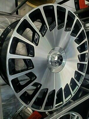 $1475 • Buy 19  Staggered Black W/ Machined Face Maybach Style Rims For Benz S450 S550 S600