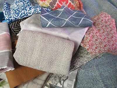 2 Kilo Upholstery Fabric Remnant Bundle, Suitable Crafts, Patchwork, Quilting... • 6.95£