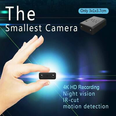View Details UK Spy Hidden Camera Home Mini Video Recorder Small Security Mirco Nanny IR CAM • 30.99£