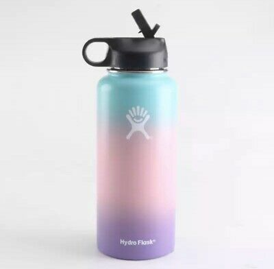 $32 • Buy Hydro Flask Wide Mouth Straw With Lid - Multicolored, 32oz Cotton Candy