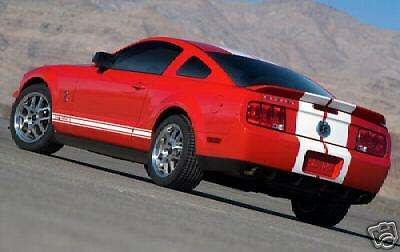 $115 • Buy Factory Style Shelby GT 500 Spoiler PAINTED Fits 2005 - 2009 Ford Mustang