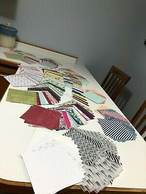 $13.90 • Buy Stampin Up Huge Lot Of 293 Pieces Of DSP Paper 6x6 Size