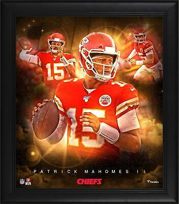 View Details Patrick Mahomes Kansas City Chiefs Framed 15  X 17  Stars Of The Game Collage • 35.00$