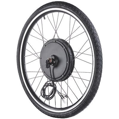 $195.90 • Buy 48V 1000W 26  Front Wheel Electric Bicycle Motor Conversion Kit Cycle EBike Hub