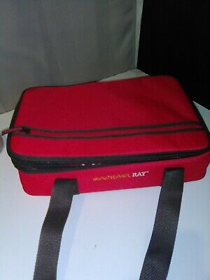 $27.99 • Buy Rachael Ray Expandable Red Stripe Thermal Lasagna Double Casserole Carrier