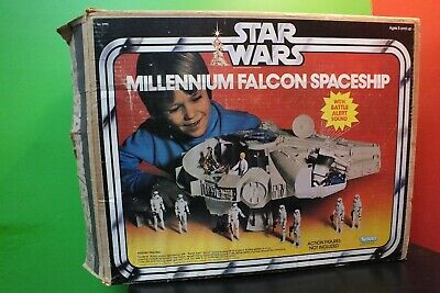 "$ CDN521.70 • Buy MINT COMPLETE Vintage 1979 Kenner Star Wars Millenium Falcon 21"" WITH BOX"