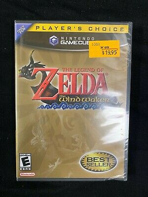 $120 • Buy Nintendo GameCube The Legend Of Zelda: The Wind Waker *NEW & SEALED*
