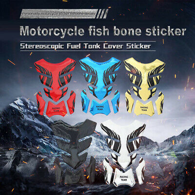 AU9.95 • Buy Motorcycle Sticker Gas Oil Fuel Tank Pad Protector Case Decal For Kawasak Yamaha