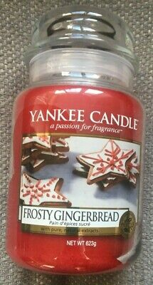 Yankee Candle Frosty Gingerbread Large Jar Brand New • 21.99£