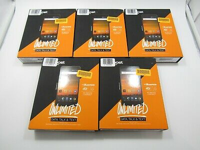 $74.99 • Buy Lot Of 5 New In-Box ZTE Blade Force N9517 Boost Mobile Check IMEI - ST370