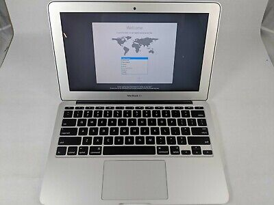 $187.50 • Buy Used MacBook Air 2015 11.6  I5-5250U 1.6GHz 4GB RAM 121GB SSD - CS0448