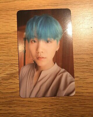 $14.50 • Buy Bts Love Yourself Official Photocard Photo Card Yoongi Suga Her L Version