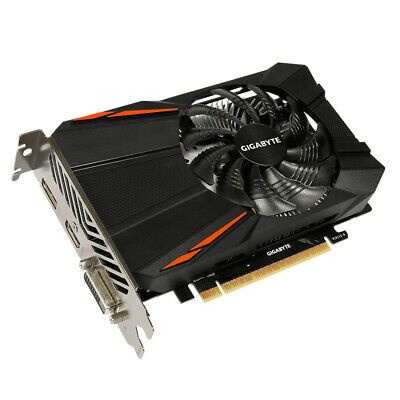 $ CDN230.83 • Buy Gigabyte Gv-N105Td5-4Gd Geforce Gtx 1050Ti Pcie 4Gb Dvi Hdmi 3Xdp