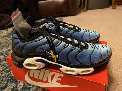 $195 • Buy Nike Air Max Plus TN - Hyper Blue / Chamois / Black - New In Box