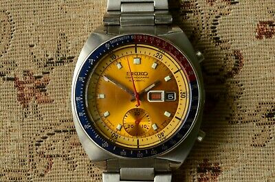 $ CDN764.19 • Buy Vintage Seiko 6139 6002 Automatic Chronograph. Very Good Condition