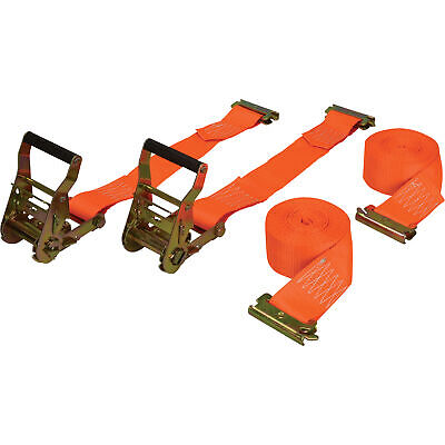 $27.99 • Buy CargoSmart Ratchet Strap- 2-Pack 2in X 12ft For E-Track And X-Track 3,000lb Cap