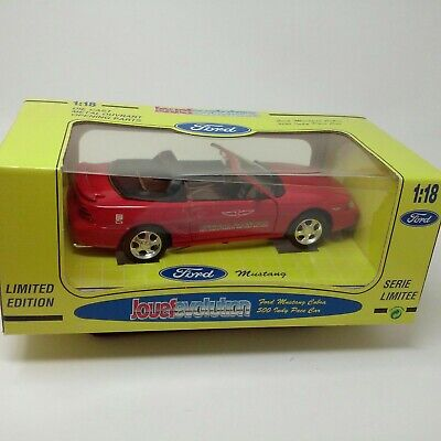$25 • Buy Jouef Eagles Race 1/18 - 1994 Ford Mustang Cobra Indy 500 Pace Car Diecast