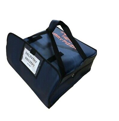 "Large Heavy Duty Pizza Delivery Takeaway Waterproof Bag Insulated 18 X18 X8""Inch • 21.95£"
