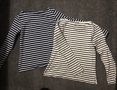 AU18 • Buy UNIQLO Women's Striped Tops Size M VGUC