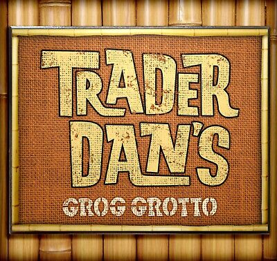 $49.95 • Buy Personalized TRADER SAM'S GROG GROTTO SIGN Wood Prop Disney World Polynesian