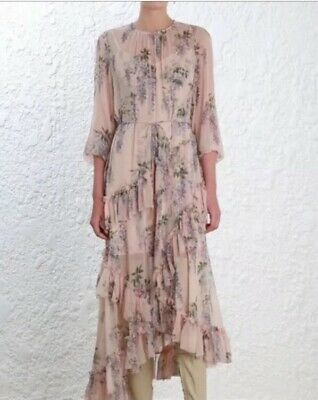 $347 • Buy RARE NWT Auth Zimmermann Feathery Folly Dress - Size 1 (US 4 6) - $995 -SOLD OUT