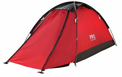 £25 • Buy ProAction 2 Man 1 Room Dome Camping Tent With Porch