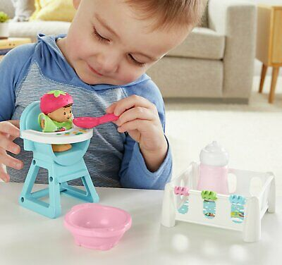 £7 • Buy Fisher-Price Little People Babies Snack & Snooze Playset