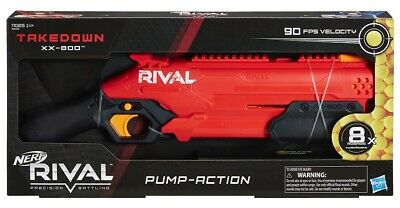 AU79.95 • Buy Nerf Rival  TAKEDOWN XX-800 Blaster (pump Action) Fast Post AUSSIE STOCK IN HAND
