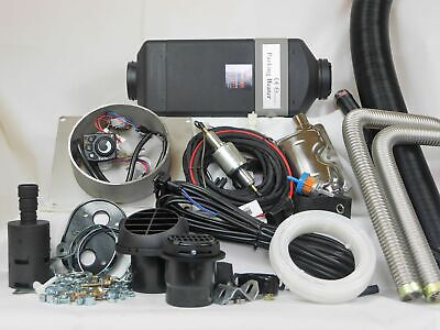 AU1080 • Buy Belief 2kW Diesel Air Heater Full Installation Kit (12V)