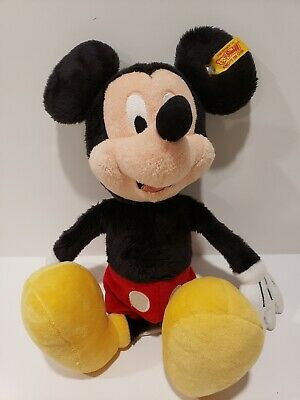 $34 • Buy Steiff Mickey Mouse Plush From Disney Parks 13''