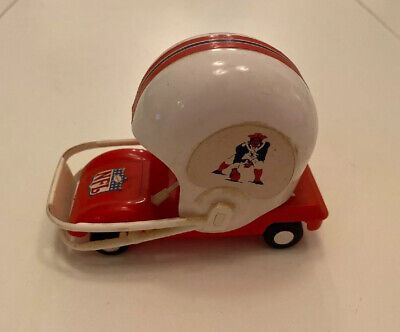 $9.99 • Buy Vintage England Patriots NFL AFL Gumball Football Helmet Buggy Car Cart