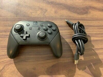 $46.95 • Buy --Nintendo Switch Black Pro Controller -- With Charging Cable