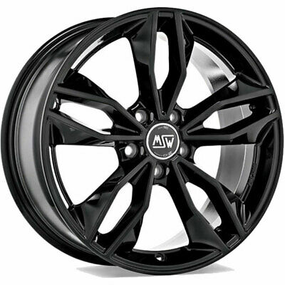 AU436.60 • Buy ALLOY WHEEL MSW 71 SUZUKI GRAN VITARA 8x18 5x114.3 ET 40 GLOSS BLACK Aa5