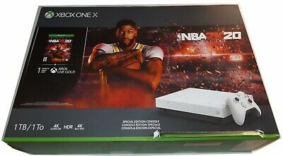 $324.99 • Buy Xbox One X Hyper Space NBA 2K20 Special Edition Bundle 1TB - Sealed -