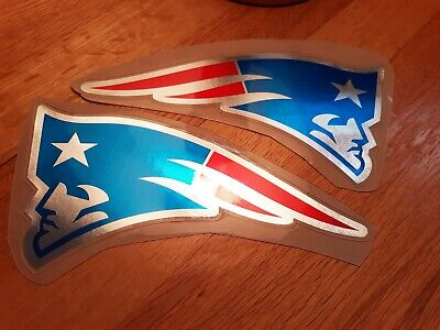 $0.99 • Buy Color Rush Chrome New England Patriots Football Helmet Decals Full Size
