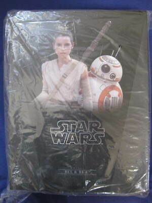 $ CDN652.60 • Buy Hot Toys Star Wars 1/6 He Force Awakens Rey And BB-8 BB8 NEW Action From JPN